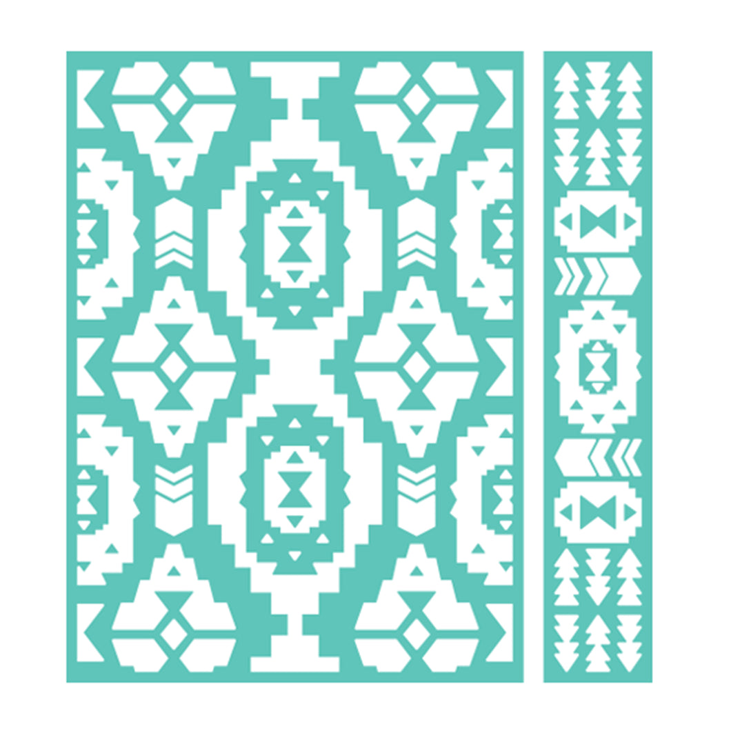 Cuttlebug™ 5x7 Embossing Folder & Border, Pueblo