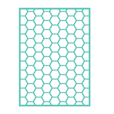 Cuttlebug™ 5x7 Honeycomb Embossing Folder