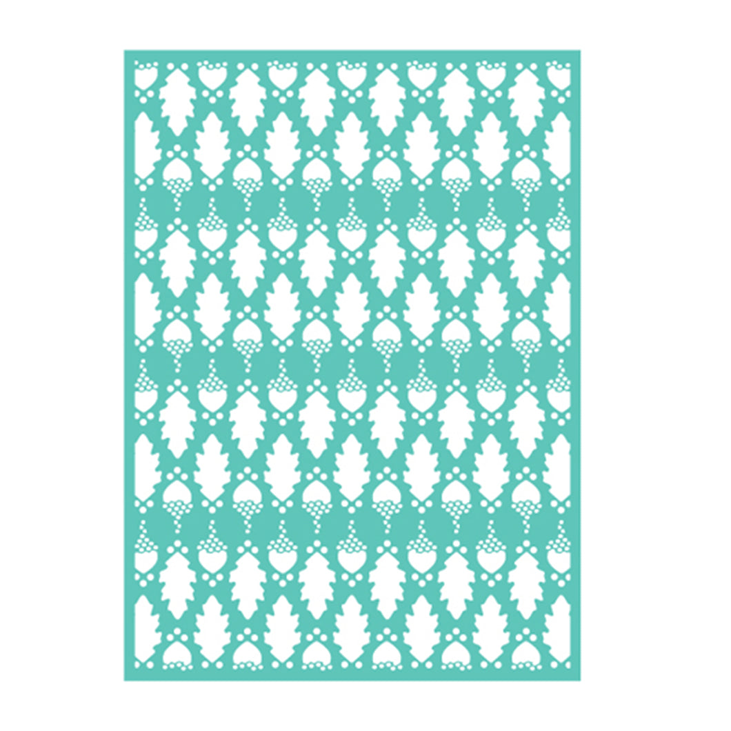 Cuttlebug™ 5x7 Oak Embossing Folder