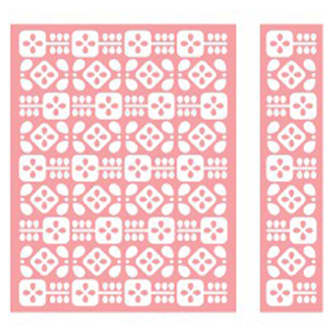 Cuttlebug™ A2 Embossing Folder & Border, Flower Folk