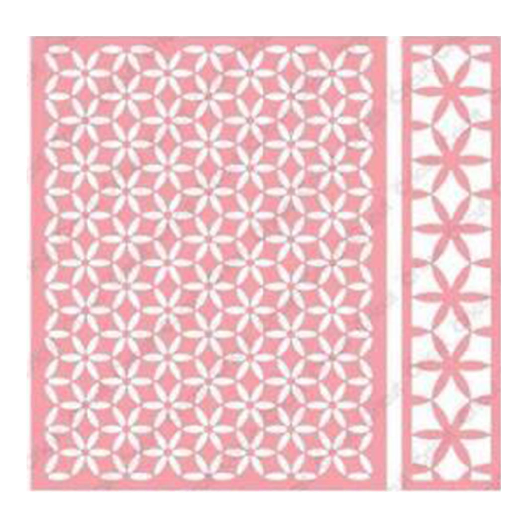 Cuttlebug™ A2 Embossing Folder & Border, Kaleidoscope