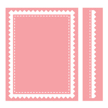 Cuttlebug™ A2 Embossing Folder & Border, Pinking Stitch