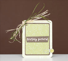 Cuttlebug™ A2 Embossing Folder & Border, Veggie Patch