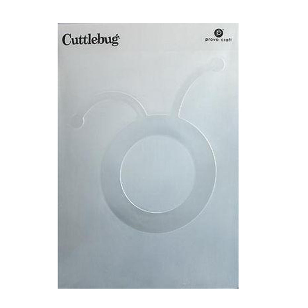 Cuttlebug® Cricut Circle Head Embossing Folder - CB Emboss