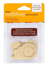 Cuttlebug™ Embossables Gold Shapes, Being a Boy