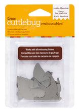 Cuttlebug™ Embossables Silver Shapes, In the Meadow