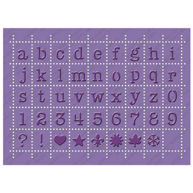 Cuttlebug® 5x7 Embossing, Postage Alphabet-CB Emboss Plus