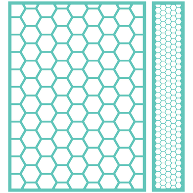 Cuttlebug™ 5x7 Embossing Folder & Border, Honeycomb