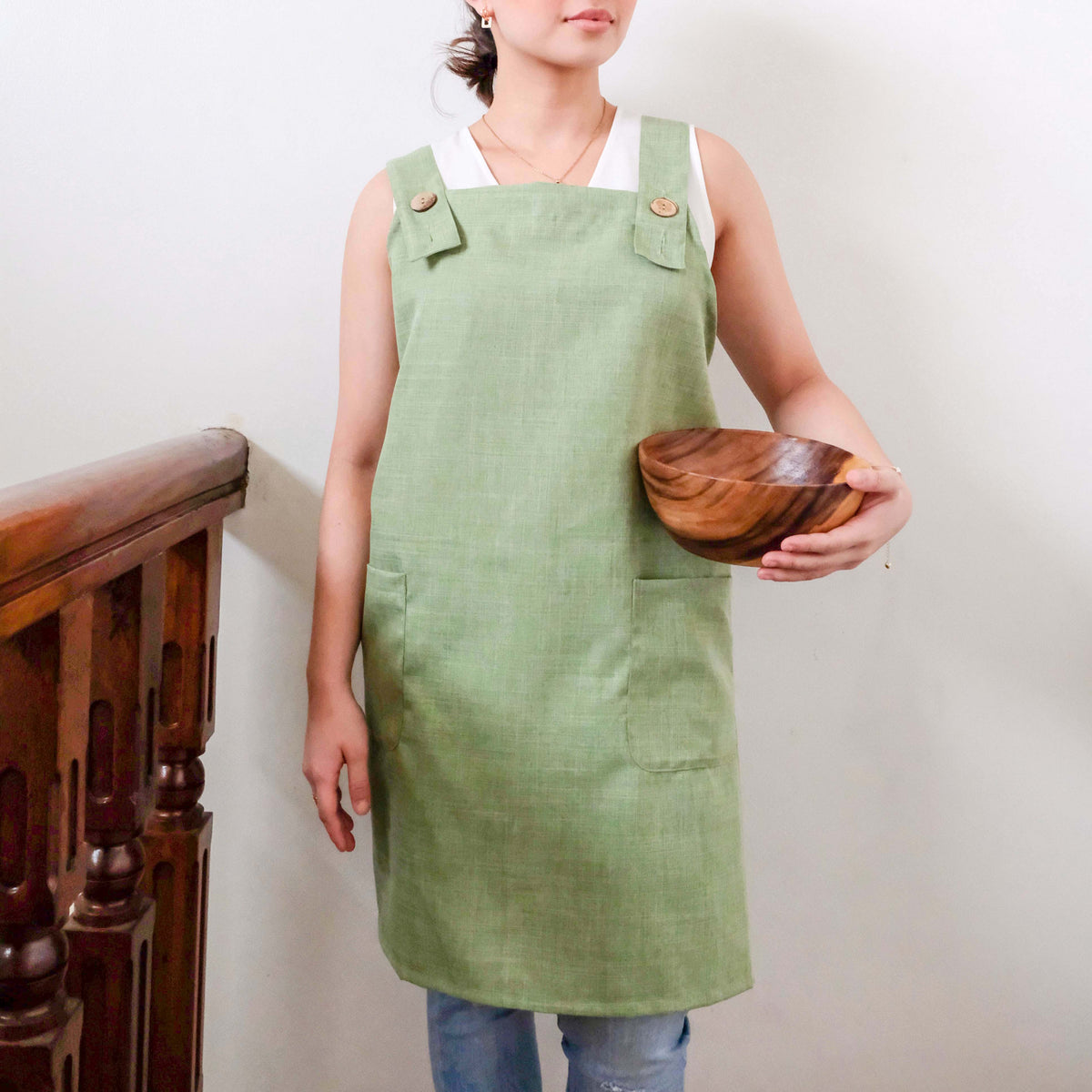 Keep Crossback Apron