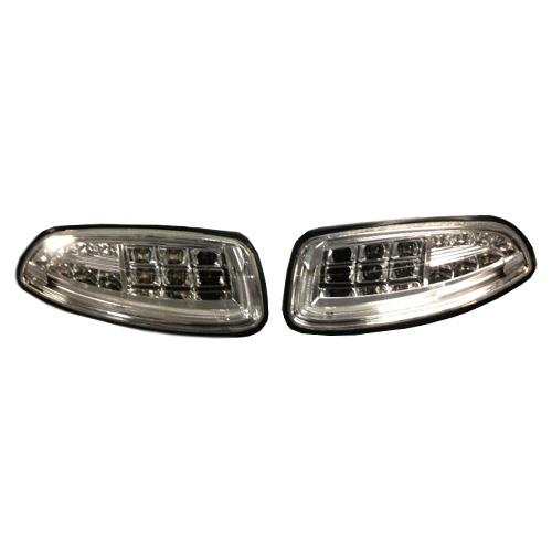 **Replacement LED Headlights for E-Z-GO RXV (Just lights no harness or reducer)