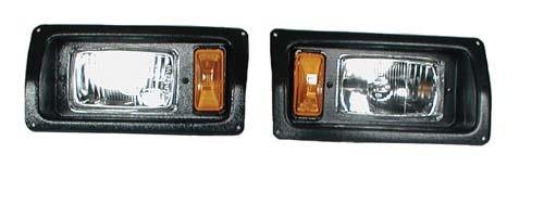 NLA BEZEL & HEADLIGHT,CC 93-UP