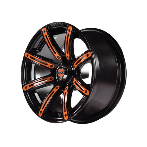 Orange Inserts for Illusion 12x7 Wheel