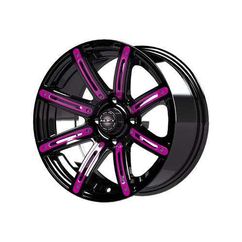 Pink Inserts for Illusion 12x7 Wheel