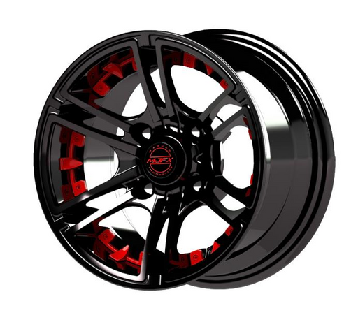Red Inserts for Mirage 14x7 Wheel