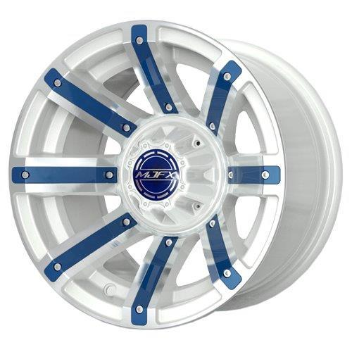 RIM PACKAGE - AVENGER White Wheel 12x7 with 215/40-12 4 STREET TYRES - SET OF 4