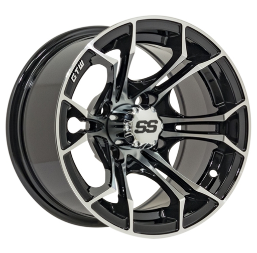 RIM PACKAGE - SPYDER WHEEL 14x7 WITH 225/30-14 STREET TYRE - SET OF 4