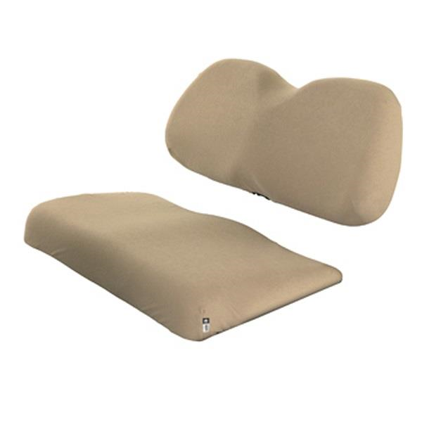 Terry cloth golf car seat cover, Light Khaki