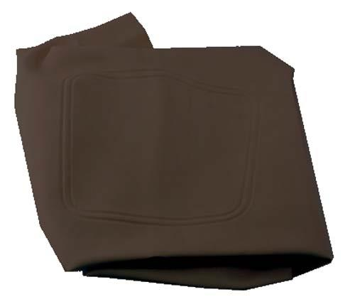 SEAT BOTTOM COVER BLACK CC 04-UP PREC