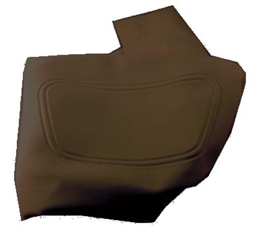 SEAT BACK COVER, BLACK, DS 2000-04