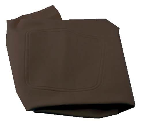 SEAT BOTTOM COVER BLK CC DS 2000-04