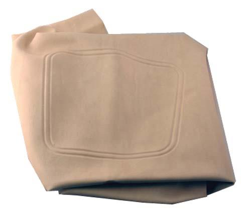 SEAT BOTTOM COVER, WHITE CC DS 2000-04