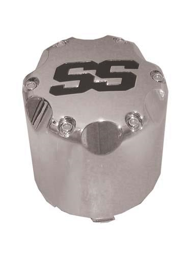 CENTER CAP, SS SNAP-IN