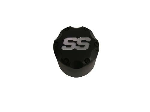 CENTER CAP, MATTE BLACK SS SNAP-IN