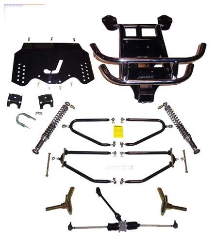JAKES LT LIFT KIT EZGO 01 1/22009 GAS LONG TRAVEL