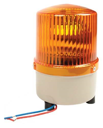 NLA STROBE LIGHT,ROTATE,AMBER 12V