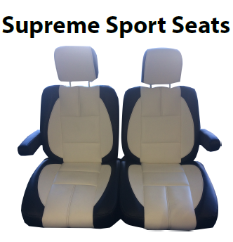 SUPREME SPORT SUITABLE FOR RXV - TAUPE BASE CHALK WHITE TRIM INSERT