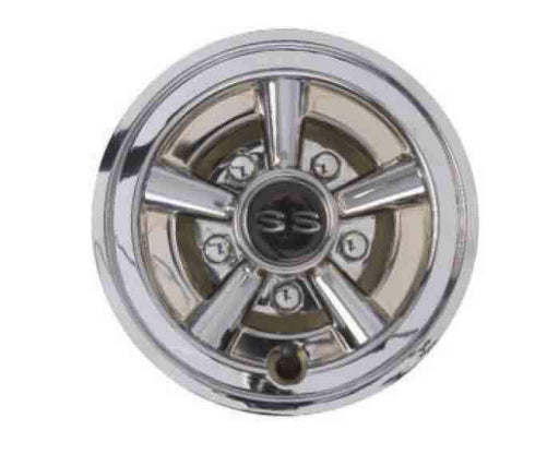8 Inch Chrome Painted Wheel Cover with SS Logo