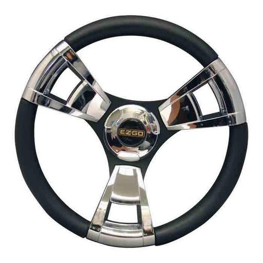 13 Inch Premium Italian Steering Wheel in Chrome