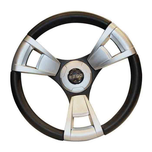 13 Inch Premium Italian Steering Wheel in Brushed