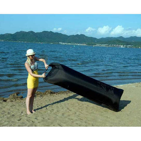Hikenture Inflatable Hammock 2nd Generation,Lightweight 2.2lbs, With A  Portable Carry Bag(