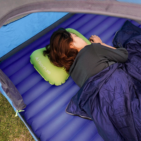 Hikenture Double Sleeping Pad Inflatable Camping Air