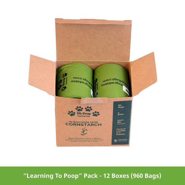 Wholesale Retail Ready - Oh Crap Dog Poop Bags