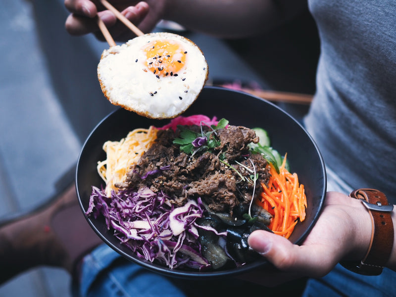 Healthy Korean Restaurant Melbourne - Bibimbap