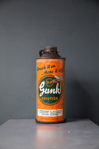 1950s Gunk Solution Quart Can