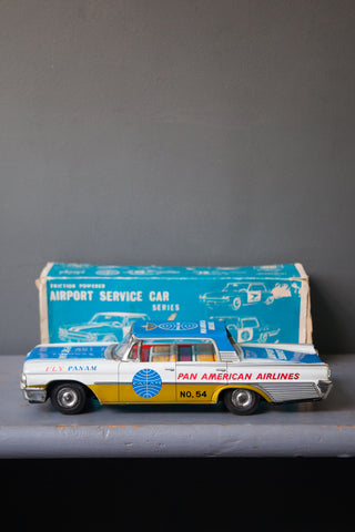 Ford Fairlane Tin Toy Car
