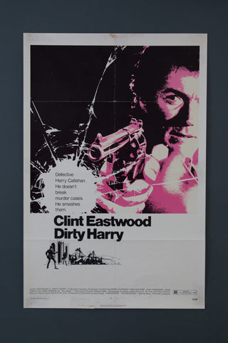 Dirty Harry 1971 Movie poster (original)
