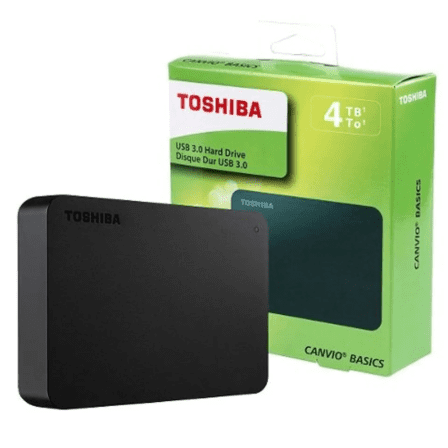 Toshiba USB 3.0 HDD 4TB - Mac Shack