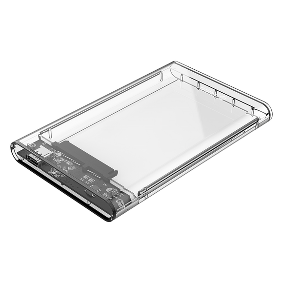 ORICO 2.5 USB-C TRANSPARENT HDD ENCLOSURE - Mac Shack