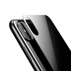 Baseus 4D Back Screen Protector for iPhone X - Black