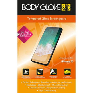"Body Glove Tempered Glass Screenguard for Apple iPhone 5.8""/X/XS"