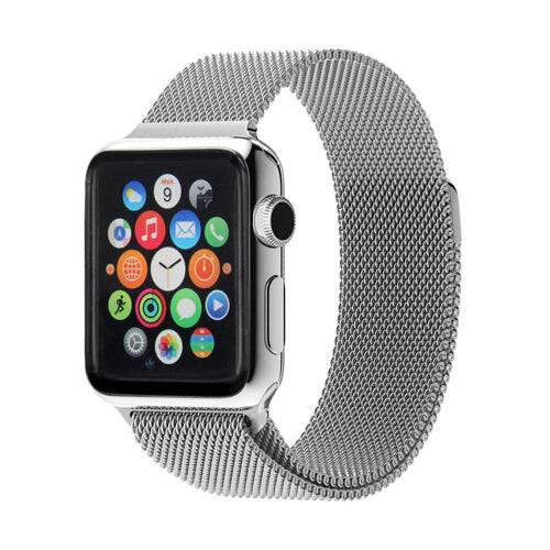 Apple Watch Strap 38/40mm - Mesh Loop - Silver