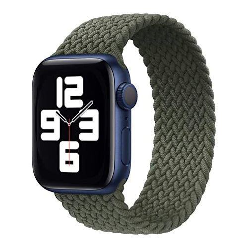Apple Watch Strap 38/40mm - Braided - Olive Green