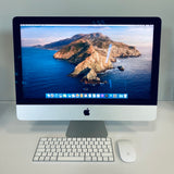 Apple iMac 21-inch 3.4GHz Quad-Core i5 (4K Retina, 8GB RAM, 1TB Fusion, Silver) - Pre Owned