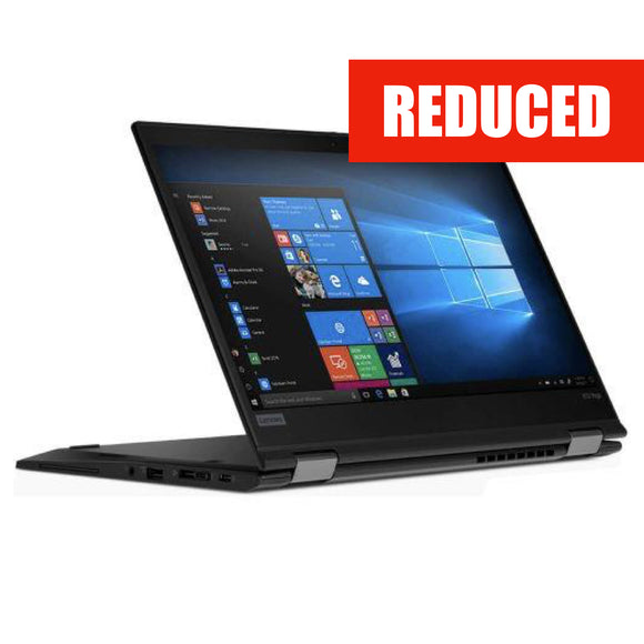 Lenovo Thinkpad X13 Yoga 1st Gen 13-inch 1.8GHz Intel Core i7-10610U 4G LTE (16GB RAM, 512GB, Black) - New - Mac Shack