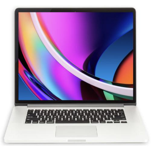 Apple MacBook Pro 15-inch 2.2GHz Quad-Core i7 (Retina, 16GB RAM, 256GB, Silver) - Pre Owned