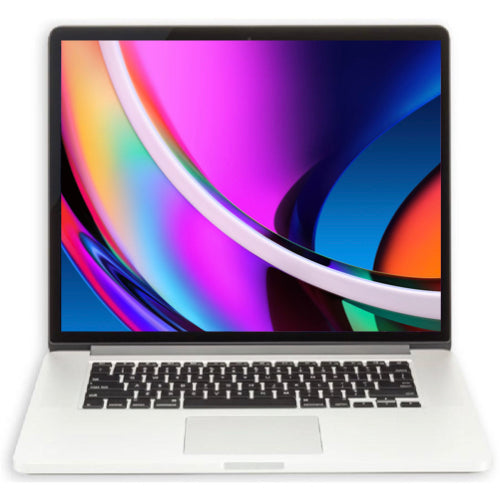 Apple MacBook Pro 15-inch 2.5GHz Quad-Core i7 (Retina, 16GB RAM, 512GB, Silver) - Pre Owned